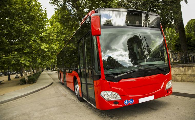 picture vignette bus