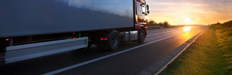 trucksunset