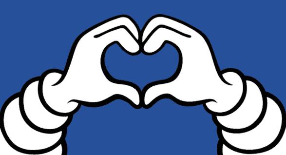 picture help hero blue bib heart