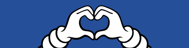 picture help hero blue bib heart