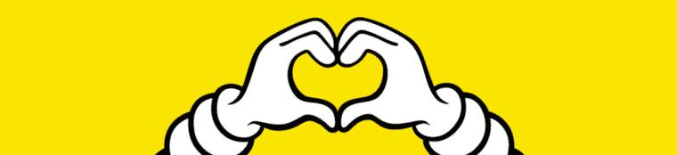 visuel contact hero image yellow bib heart