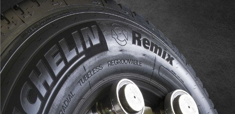 image michelin remix tyre