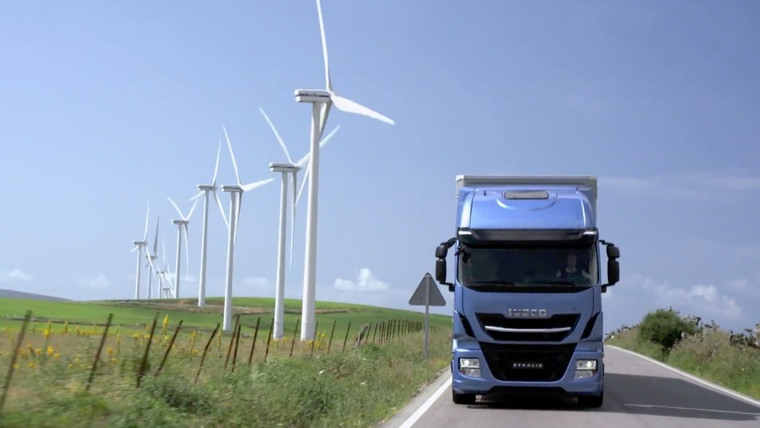 photo x multi energy camion éolienne