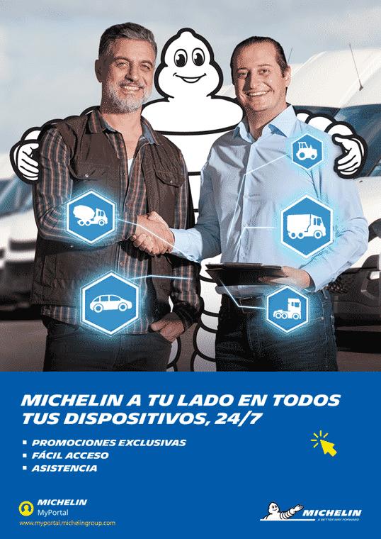 background michelin myportal tc fleet full freight transport