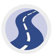 logo road handling tyre