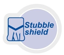 logo stubble shield tyre one third
