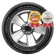 Bil Dæk bfgoodrich r g grip all season 2 home background md 1 Persp (perspective)