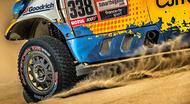 tyres at dakar dunes