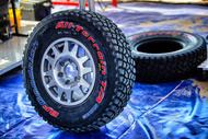 Tyres at dakar - KDR2