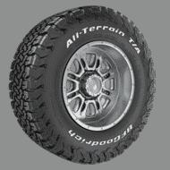 Auto Neumáticos bfgoodrich all terrain t a sup ko2 Persp