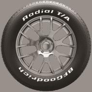 Auto Pneus bfgoodrich radial t a side