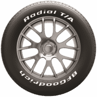 Auto Pneumatici bfgoodrich radial t a home side