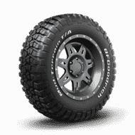 Auto Tyres mud terrain km2 5 two thirds Persp (perspective)