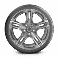 Car tyres pilot super sport side