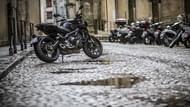 Moto Éditorial road5 yamaha mt09 pluie 036 Pneus