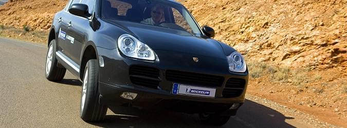 Car edito michelin porsche tyres