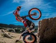 Moto Éditorial michelin photos competition 2017 trial toni bou pneus