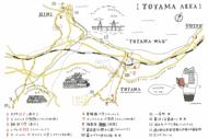 MEM北陸 イラストマップ