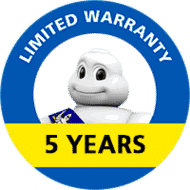 5 Years Limited Warranty