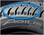 Auto Edito agilis alpin unique treads Tyres