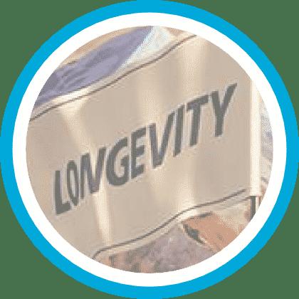 Bil Piktogram 5 longetivity Däck