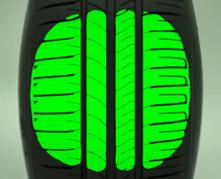 Auto Picto energsaver optimized profile Banden
