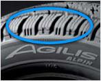 Auto piktogramm agilis alpin unique treads reifen