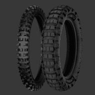 Motorrad Reifen michelin desert race tyre Perspektive