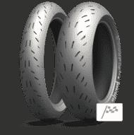 Motorrad Reifen michelin power cup 2 Perspektive