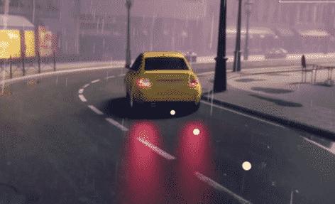Kjøretøy Piktogram wet grip Dekk