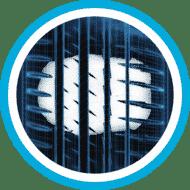 Auto Piktogrammi 4 reactive thread pattern Renkaat
