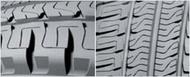 Auto Piktogrammi lamellized sculpture Renkaat