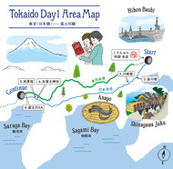 190417 tokaido day1 map