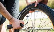bike tips and advice pressure background