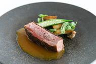 レストラン花の木 鴨肉のロースト