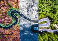 4 seasons aerial view