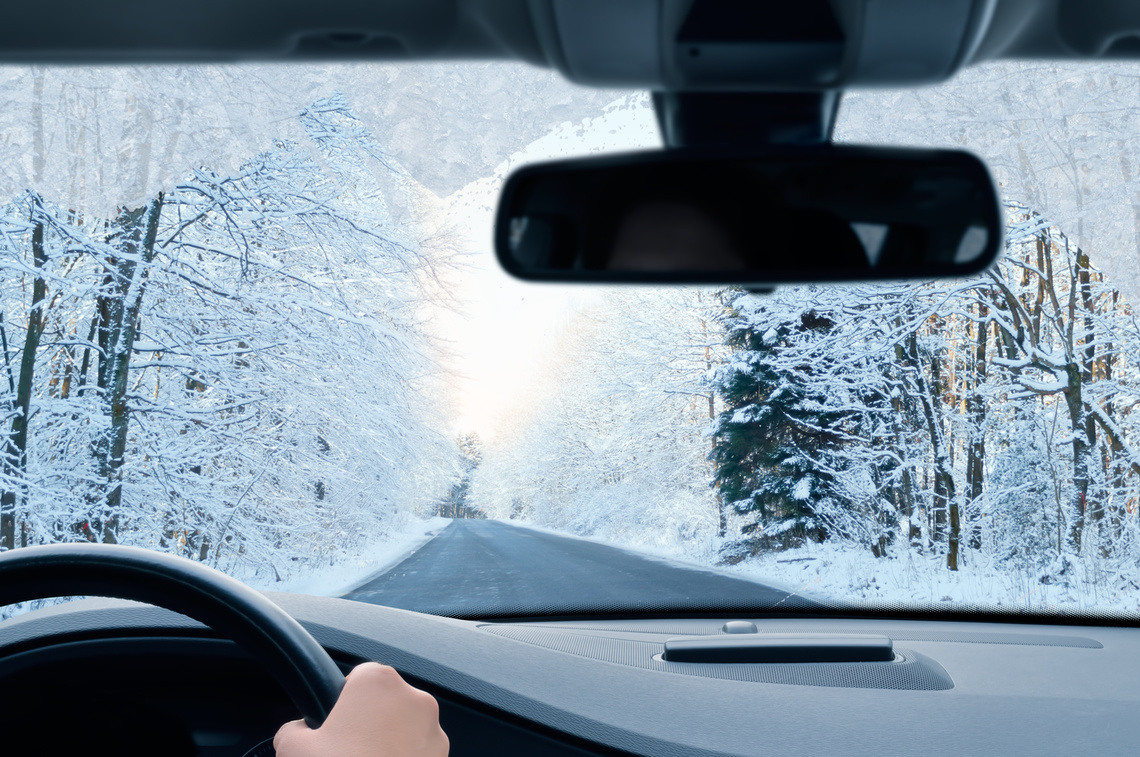 guide drive in snow