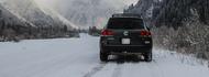 Auto Arrière-plan driving in snow Astuces et conseils