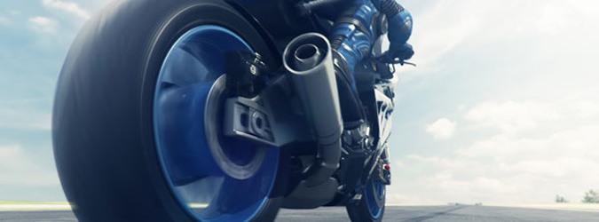 Motorcykel Tidningsledare power rs  Däck