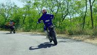 Motorcykel Ledende artikel rtb2 full Dæk