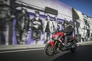 Motorcykel Ledende artikel moto edito pilot road4 1 tyres two thirds Dæk
