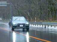 AudiのA4 allroad quattroとスタッドレスのMICHELIN X-ICE 3