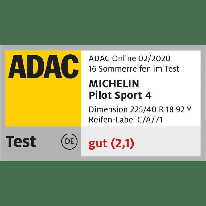 michelin pilot sport 4 4c 02 20 frei