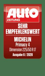2020 Autozeitung sehr empfehlenswert Primacy 4