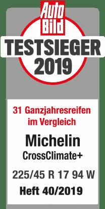 michelin crossclimateplus testlogo autobild testsieger 2018 209x411px