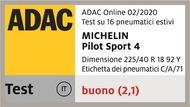 Pilot Sport 4 - Test ADAC