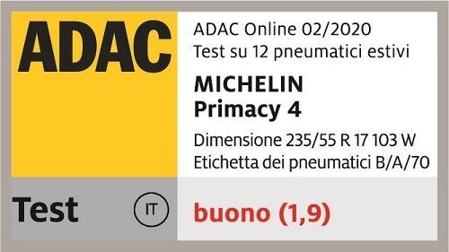 michelin primacy 4 adac flag
