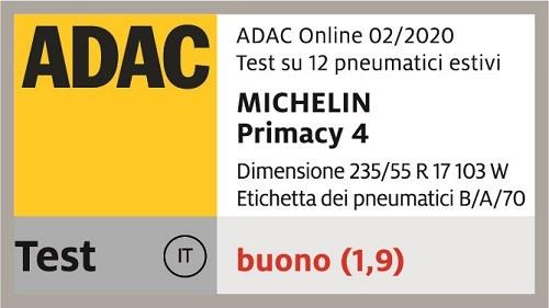 michelin primacy 4 adac flag