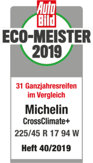2019 Autobild EcoMeister CrossClimate +