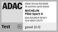 Pilot Sport 4 - ADAC Online 02/2020